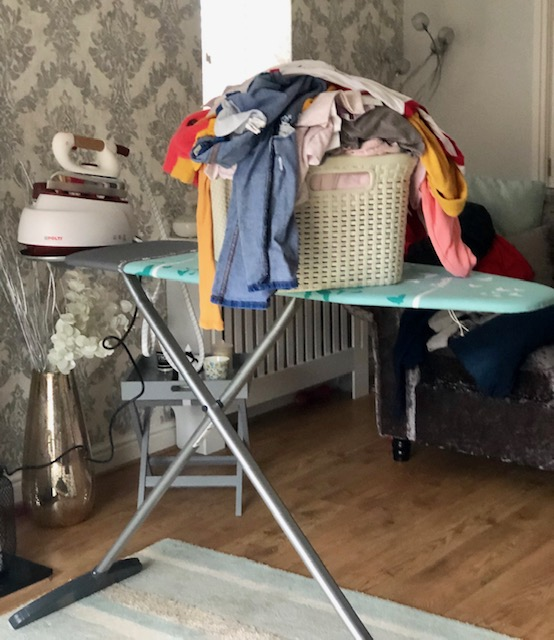 My review of the Vileda Park and Go Ironing board