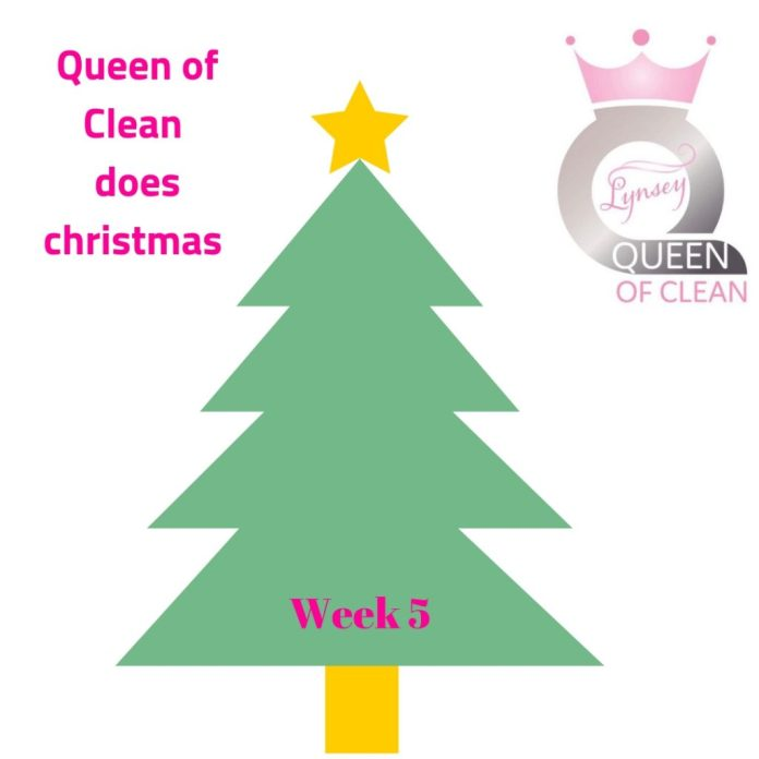 Queen of Clean does Christmas Week 5