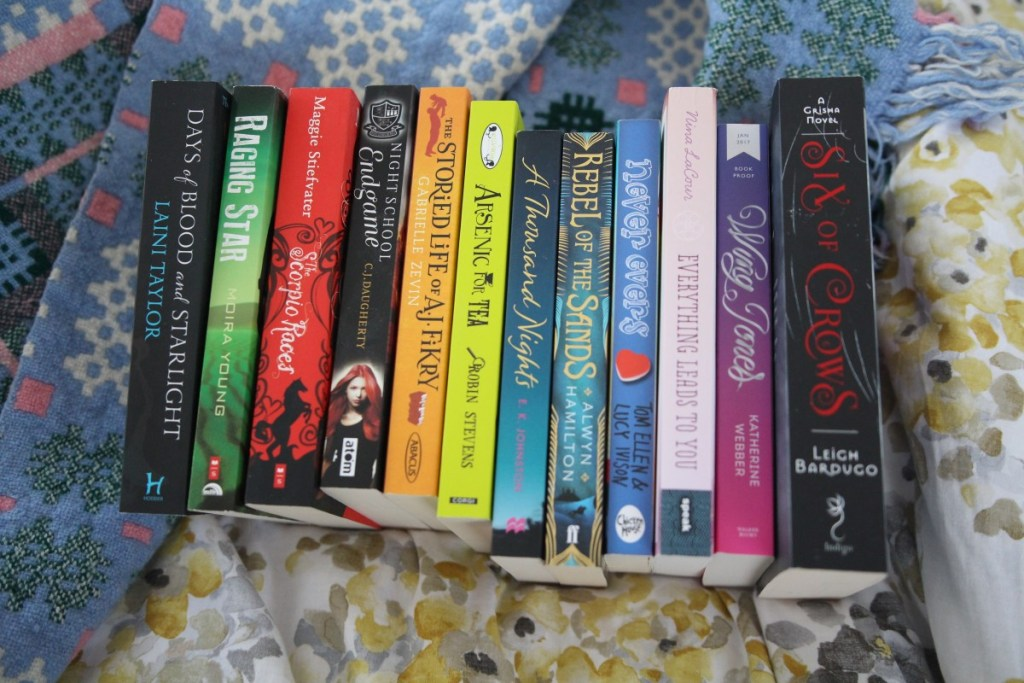 An Entirely Unrealistic December TBR