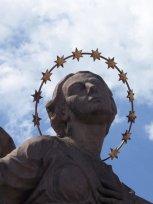Statue on a Bridge in Germany