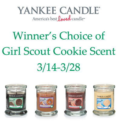 Winners Choice of Yankee Candles Girl Scout Cookie Tumbler