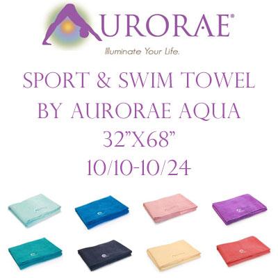 Aurorae Sport & Swim Towel Giveaway