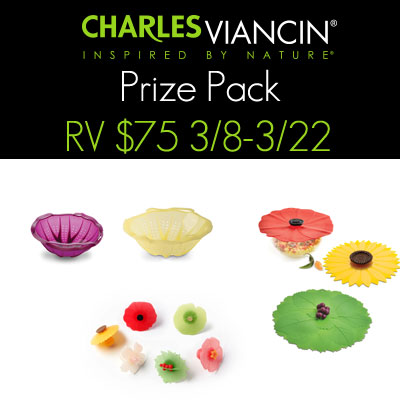 Charles Viancin Prize Pack Giveaway Over $75 RV