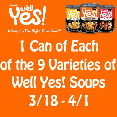 Campbell's Well Yes Soup Giveaway-banner