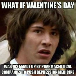 Or Hallmark to sell cards. Or Hershey's to sell chocolate...