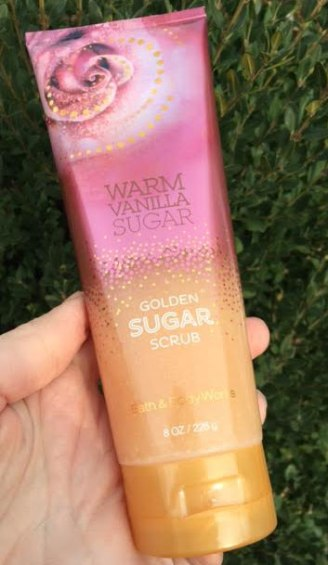 Bath & Body Works Golden Sugar Scrub Review