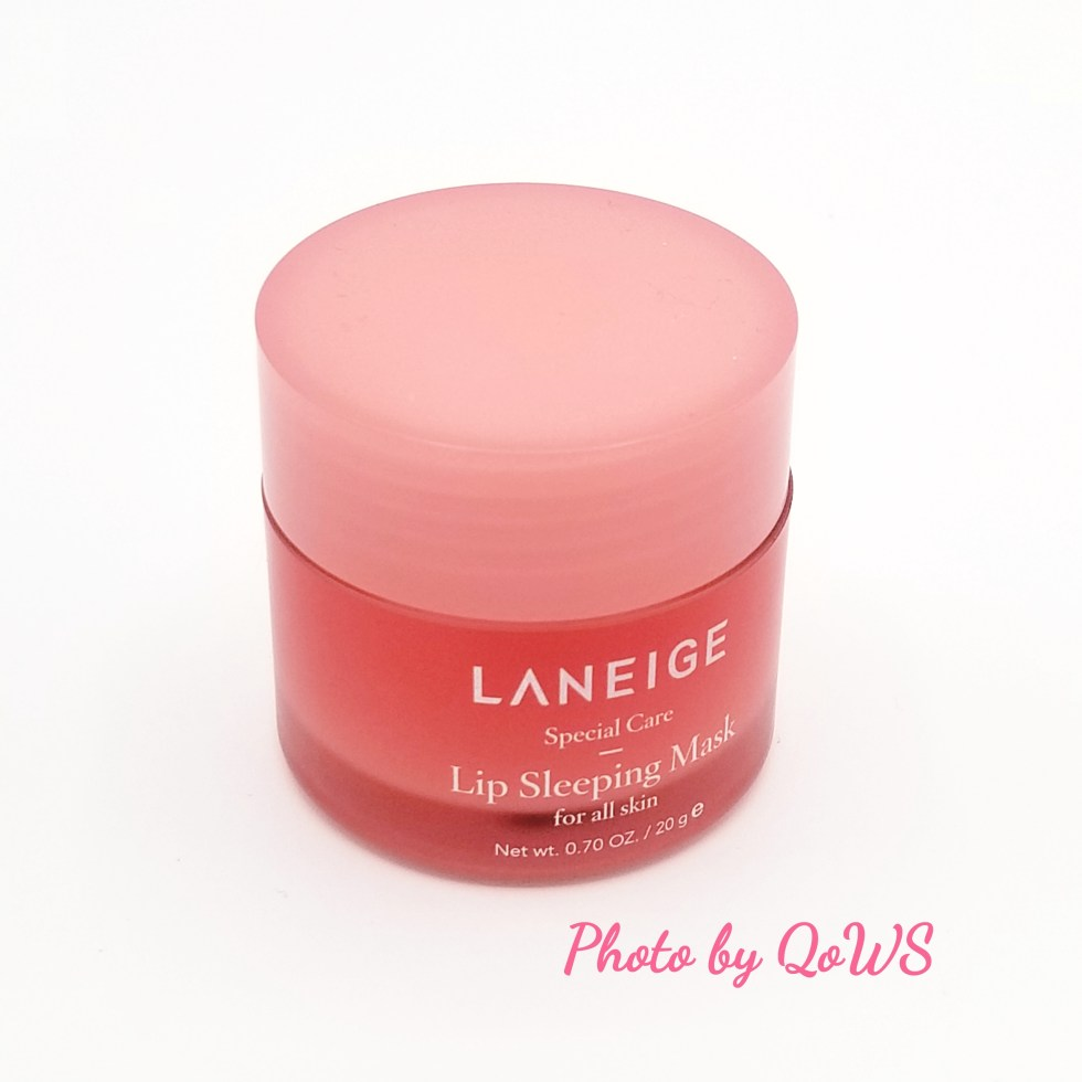 Laneige Lip Sleeping Mask Up Close