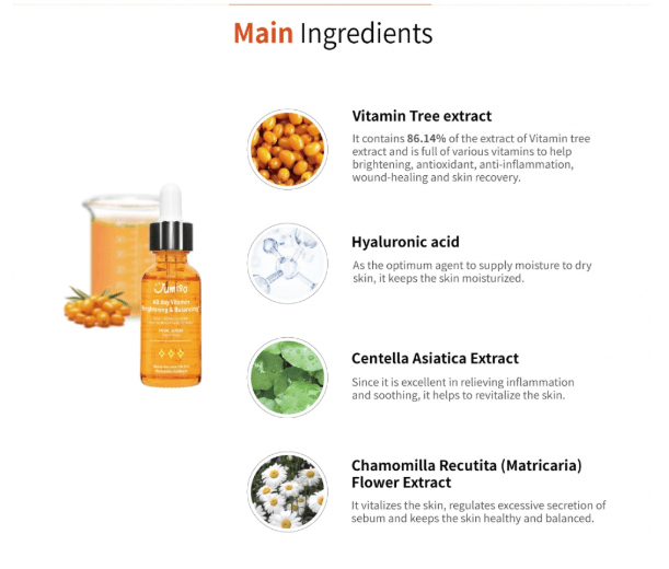 jumiso all day vitamin serum ingredients list