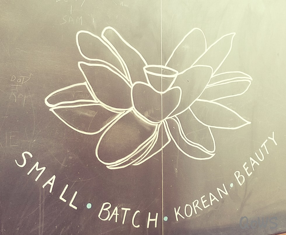 sabbatical beauty logo chalkboard