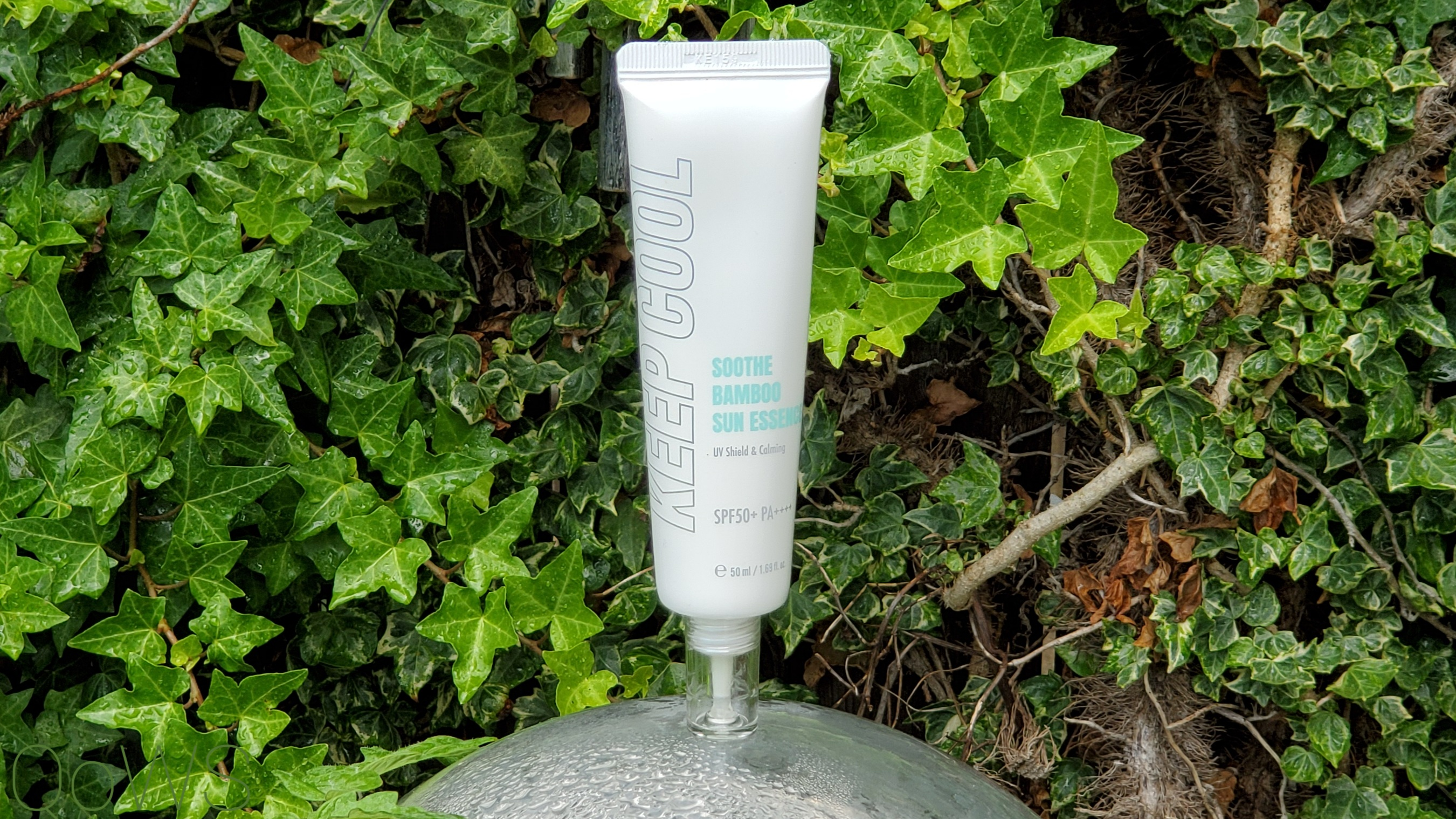 keep cool bamboo sun essence review