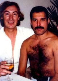 Freddie with David Wigg