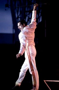 Freddie live in magic tour