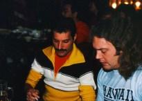 Freddie with James 'Trip' Khalaf (Sound Engineer)