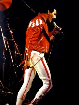Hot Space tour 1982 Freddie live show