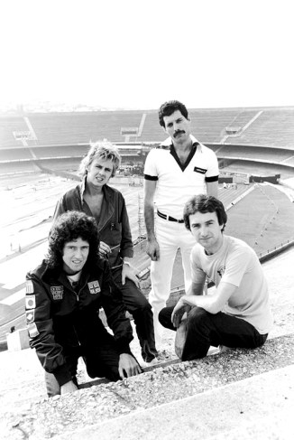Queen in Sao Paulo 1981