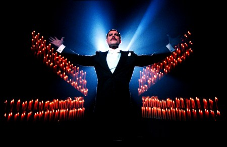 Freddie Mercury - Who Want To Live Forever photo session in 1986