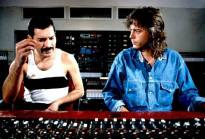 Freddie with Mack in Musicland 1985