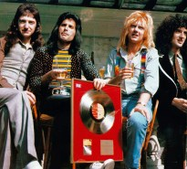 with gold disc in 1976