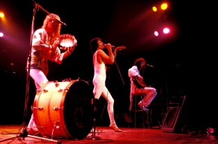 Queen Live at Madison Square Garden in New York on 5th February 1977