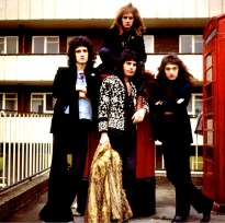 Queen - photo session in London 1974