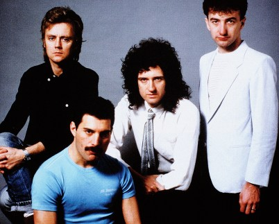 Queen in 1982 - Hot Space photo session