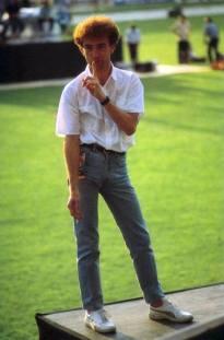 John - in Budapest 1986