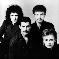 Queen - photo session with Simon Fowler - Hot Space album in 1982