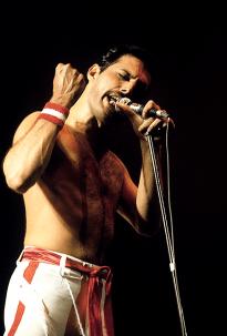 Freddie Mercury - Hot Space Tour 1982