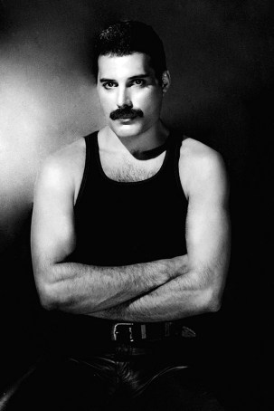 Freddie - The Works album photo session