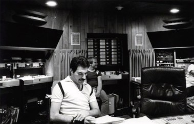 Freddie Mercury at Mountain Studios