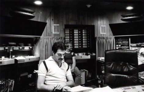 Freddie Mercury at Mountain Studios
