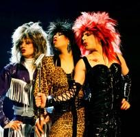 Roger Taylor, Peter Straker, Freddie Mercury - Making of The Great Pretender video in 1987
