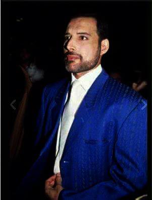 Freddie in 1989 - ITV Award