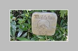 Meditation Rock in Asheville, NC