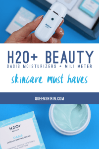 Read more about the article H2O+ Oasis Moisturizers & MiLi Moisture Meter Review