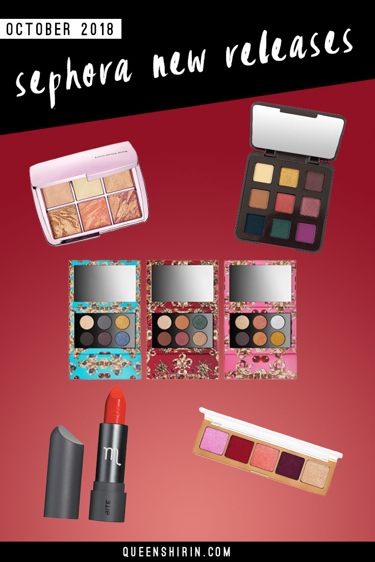 October 2018: New Sephora Beauty Product Releases