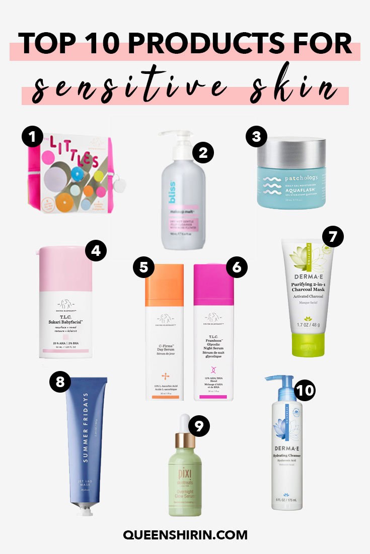 Top 10 Skincare Gifts for Sensitive Skin