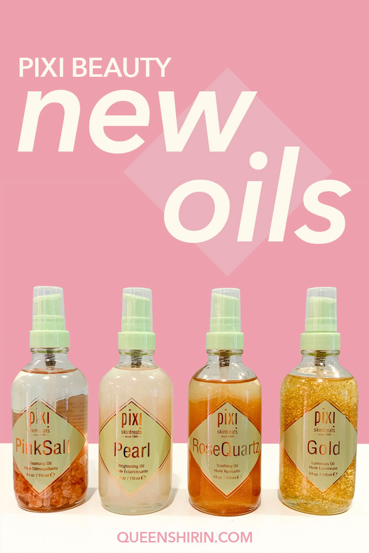 Pixi Beauty Launches New Oils
