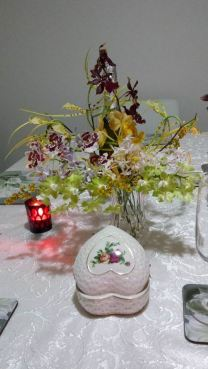 Dinner on 2015 Valentine's Day by Barbara Haywood 1