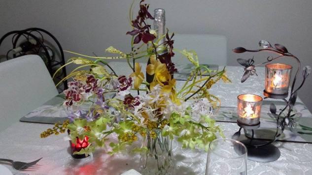 Dinner on 2015 Valentine's Day by Barbara Haywood 2