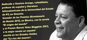 Escritor colombiano Gustavo Arango.
