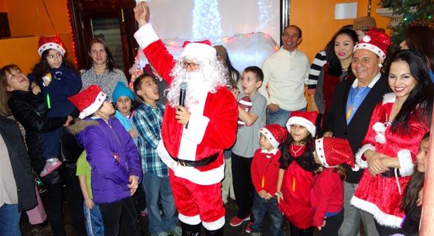 Santa Clause at Boulevard