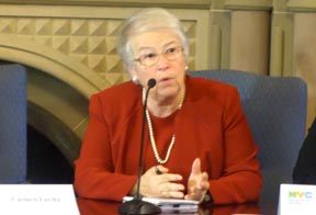 Education Chancillor Carmen Fariña. Photo Javier Castaño