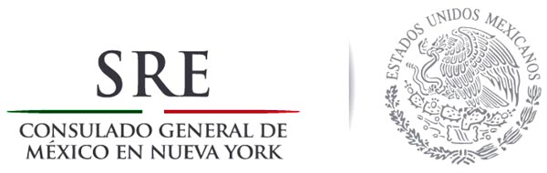 Consulado Mexico NY logo
