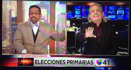 Luis Miranta y JC