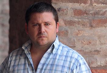 El autor Luciano Wernicke. Foto cortesía Sudaquia Editores