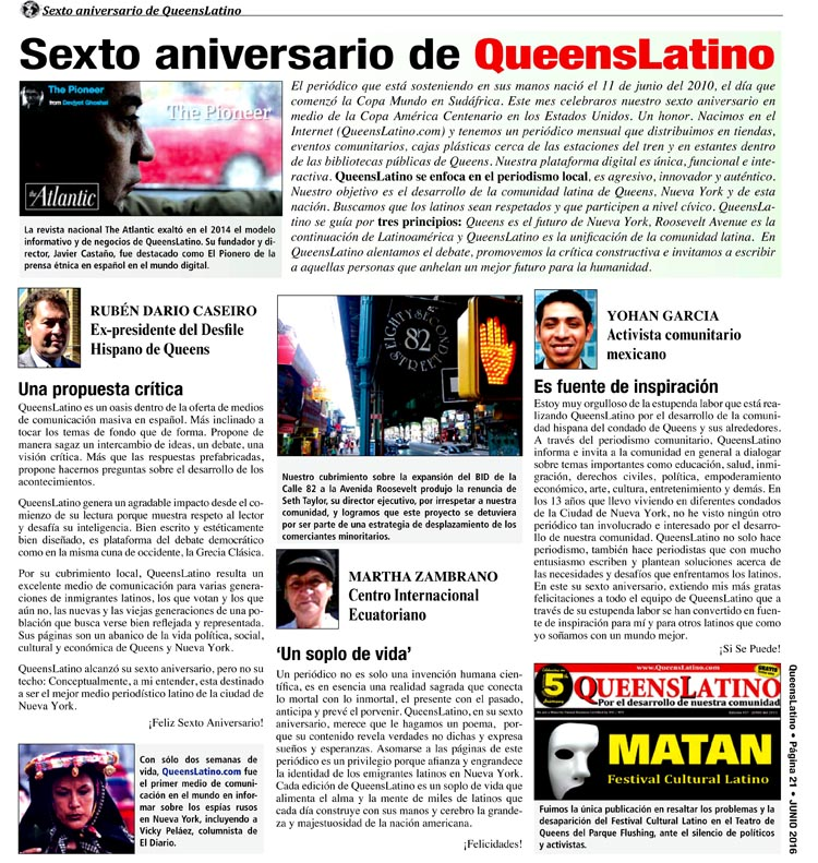QUEENSLATINO EDITION #67 APRIL 2016.indd