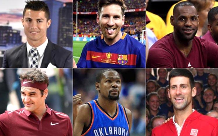 Mejores deportista pagos del mundo
