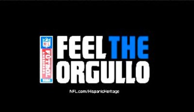 NFL Feel the Orgullo