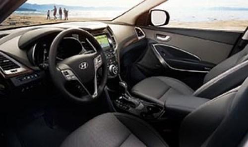 El interior de este carro es de lujo.